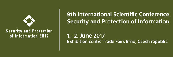 Novicom at SPI 2017 conference - Security and Protection of Information, Brno
