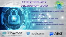 Novicom a Flowmon Networks pořádají Cyber Security Workshop 2019 ve Vietnamu